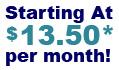 $13.50 per month